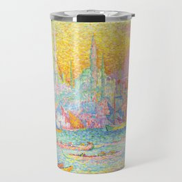 "Paul Signac ""La Corne d'Or - Constantinople"" Travel Mug"