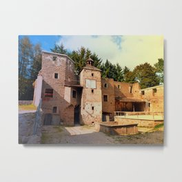 The ruins of Reichenau castle | architectural photography Metal Print