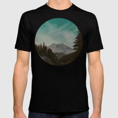 Mt. Baker Mens Fitted Tee Black MEDIUM