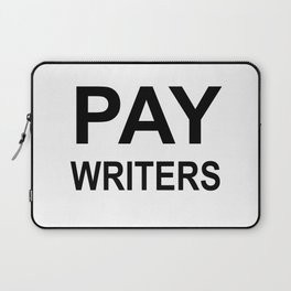 PAY WRITERS Laptop Sleeve
