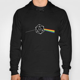 D20 Success Dungeons and Dragons D&D Hoody