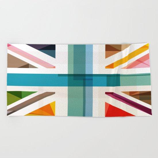 MultiCultural Britain Beach Towel