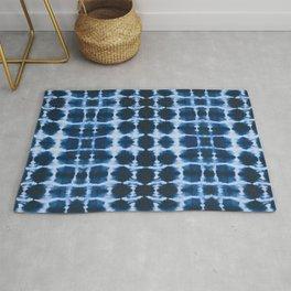 Blue Shibori Rug