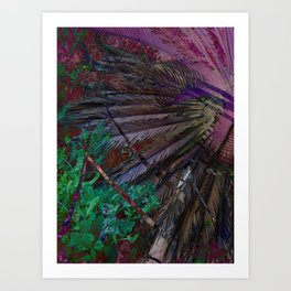 Palms of the the Patriarch Art Print
