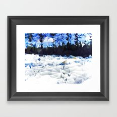 Carolina Snow Framed Art Print