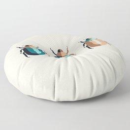 June Bugs Floor Pillow