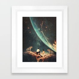 Guardians of our Future Framed Art Print