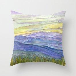 Mountains 27 Throw Pillow
