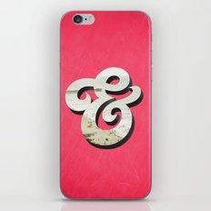 Amper[sand] iPhone & iPod Skin