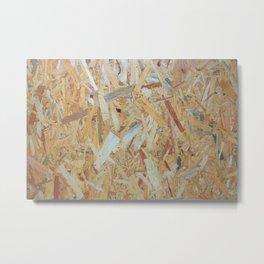 Just Plywood Metal Print