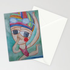 On the verge Stationery Cards