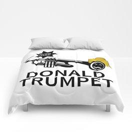 Donald Trump Trumpet Comforters