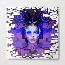 I'm Beautiful Metal Print