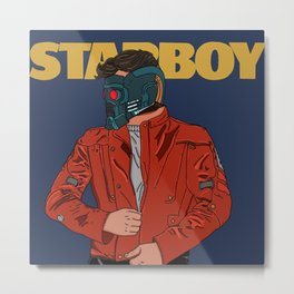 Im a mother*!%#@ Star-Lord Metal Print
