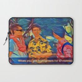 Christmas Stationary Laptop Sleeve