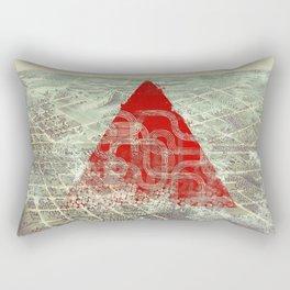 Rusty Future Rectangular Pillow