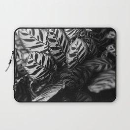The Black & White Peacock Laptop Sleeve