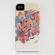 Graffiti Head Slim Case iPhone (4, 4s)