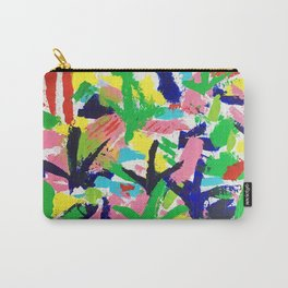 Bird Tracks, Abstract Art Carry-All Pouch