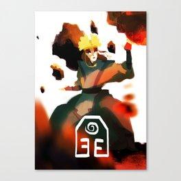 Avatar Kyoshi II Canvas Print
