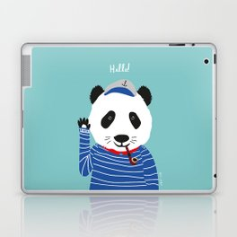 Mr. Panda Seaman Laptop & iPad Skin