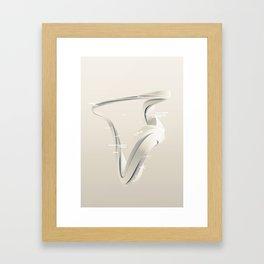 Four Turn Framed Art Print