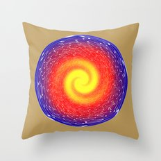 Power Cell Throw Pillow