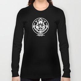 Nautical Symbols Overkill Long Sleeve T-shirt