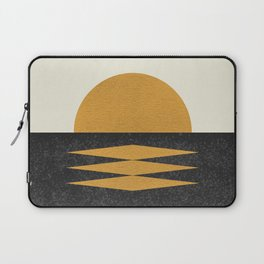 Sunset Geometric Midcentury style Laptop Sleeve