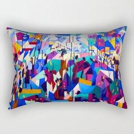Gino Severini The Boulevard Rectangular Pillow