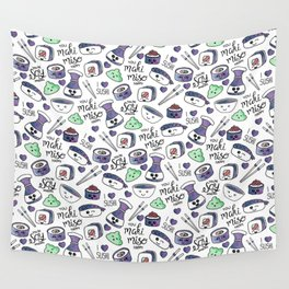 Galaxy Sushi Wall Tapestry
