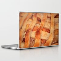 dessert Laptop & iPad Skins featuring Dessert by silverstreaked