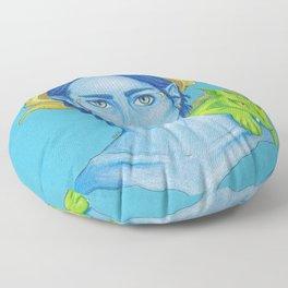 Blue Demon Floor Pillow