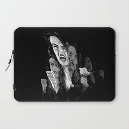 Woman Fed Up, Angry and Stressed Out Laptop Sleeve