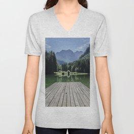 Mountain Masterpiece Unisex V-Neck
