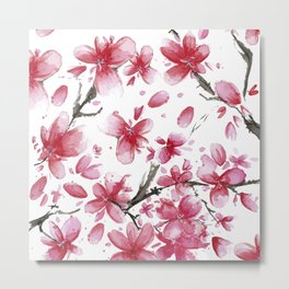 Cherry Blossoms #society6 #buyart Metal Print