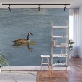 Goose and Gosling Wall Mural