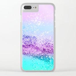 Unicorn Girls Glitter #14 #shiny #decor #art #society6 Clear iPhone Case