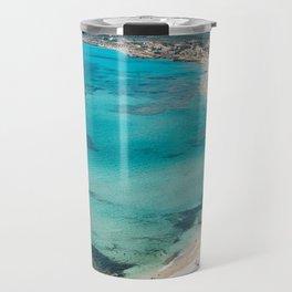 sea landscape Sardinia Travel Mug