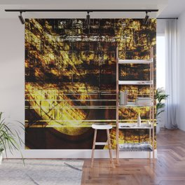 Gold dream Wall Mural