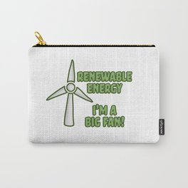 Renewable Energy Carry-All Pouch