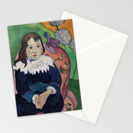 Finest French art by Paul Gauguin. Stationery Cards