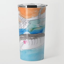 Shark Watch Travel Mug