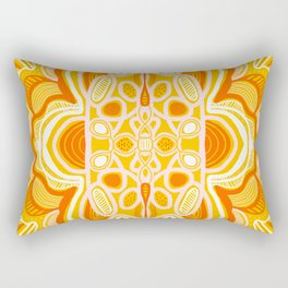 commune mandala Rectangular Pillow