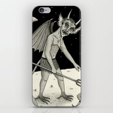 A Diabolical Act of Persuasion iPhone & iPod Skin