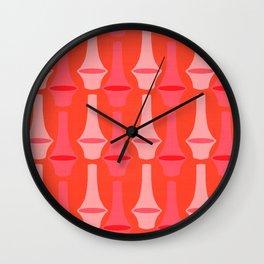 Riihimäki Pink Wall Clock