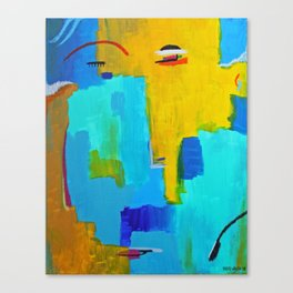 Face 2 Canvas Print