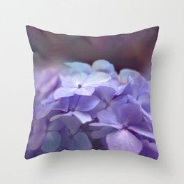 butterflies flower Throw Pillow