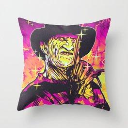 Freddy  Throw Pillow