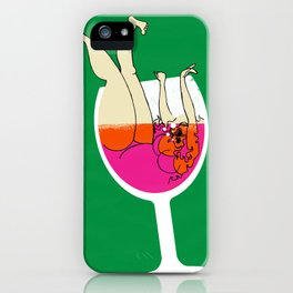 Drink Responsibly - Don't Spill your Drink iPhone Case